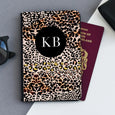 Personalised Passport Holder | Leopard Print