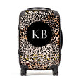 Personalised Suitcase | Leopard Print