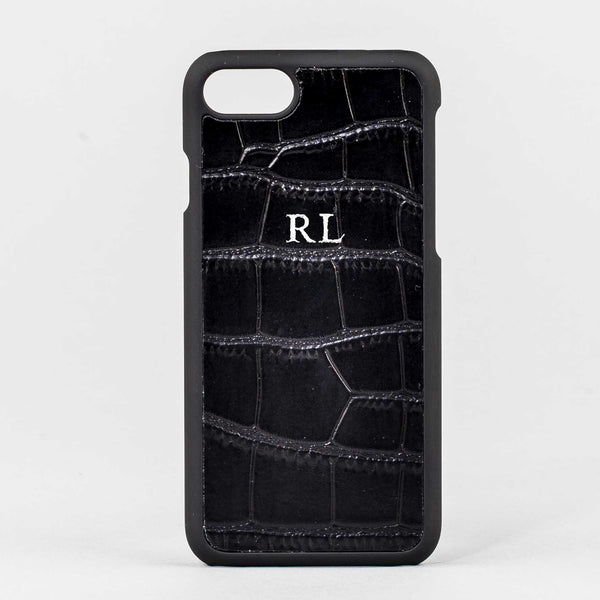 Mock Croc Leather Phone Case