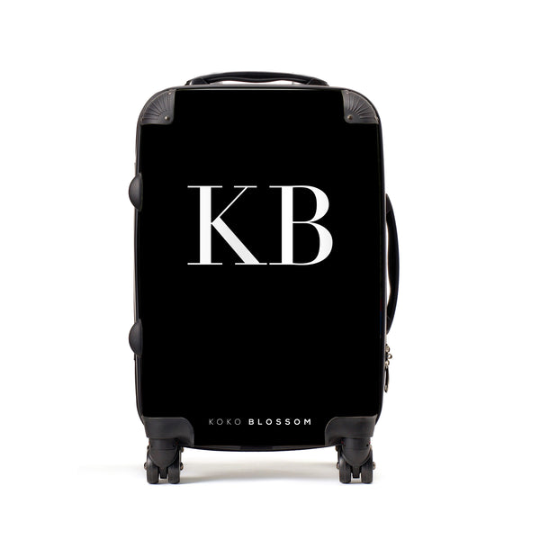 Personalised Suitcase | Classic Monogram