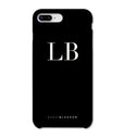 Personalised Phone Case | Black Monogram