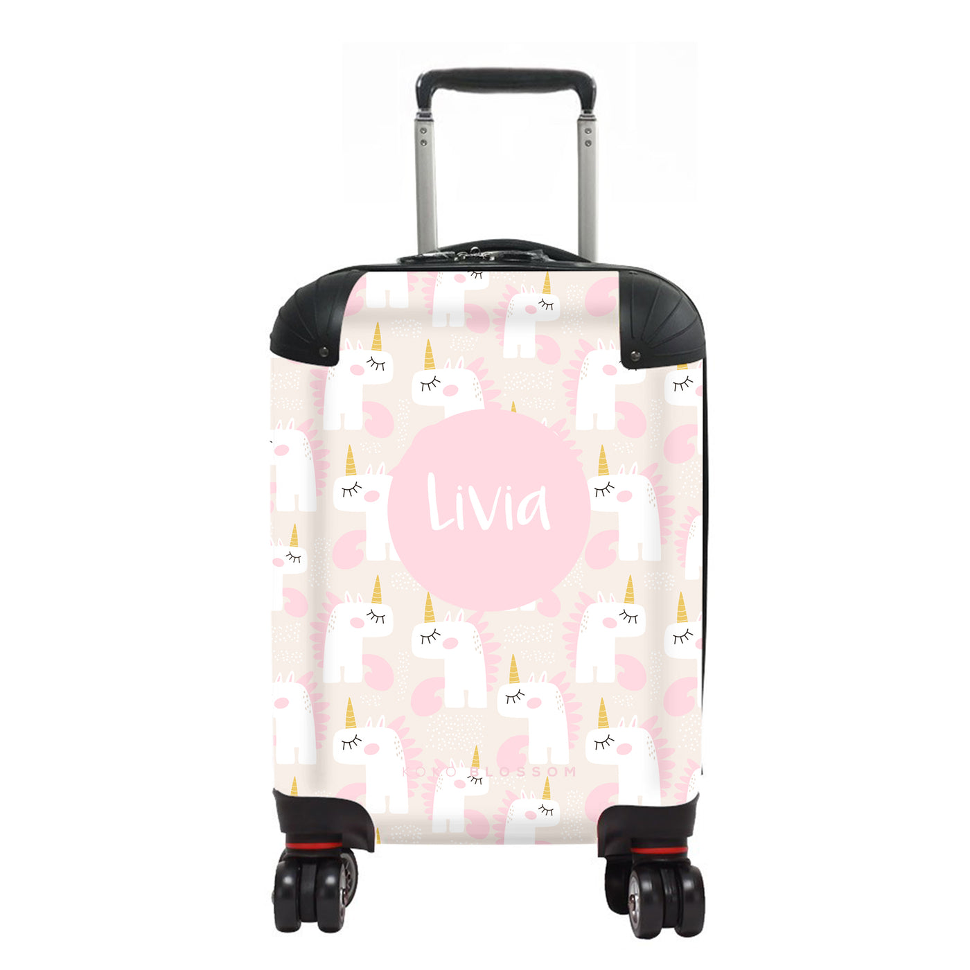 Kids Personalised Suitcase | Unicorn