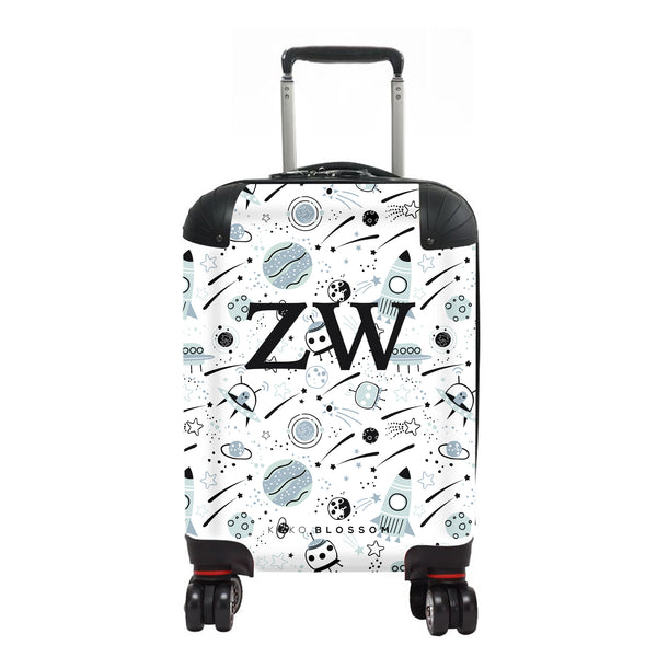 Kids Personalised Suitcase | Outer Space