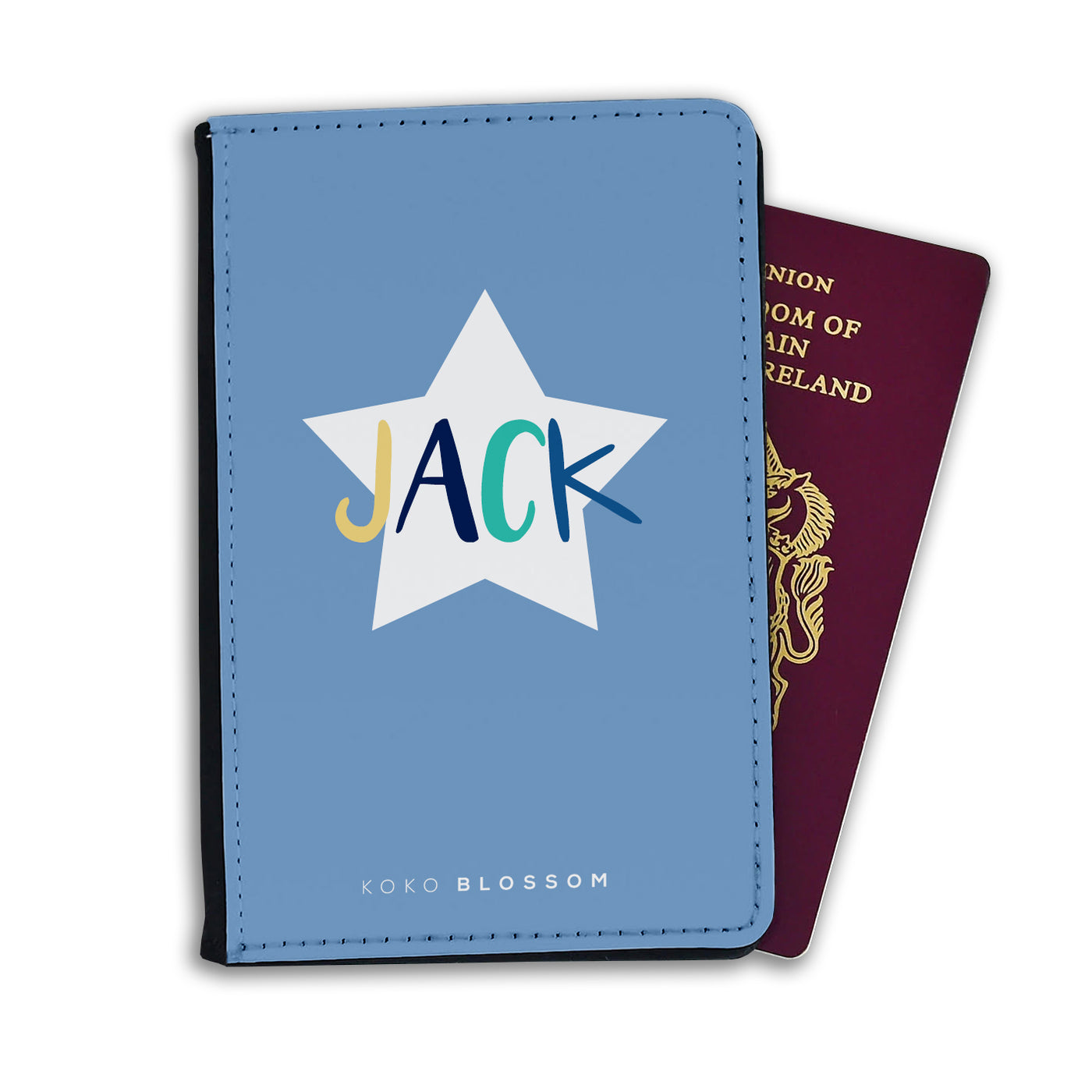 Kids Personalised Passport | Little Star