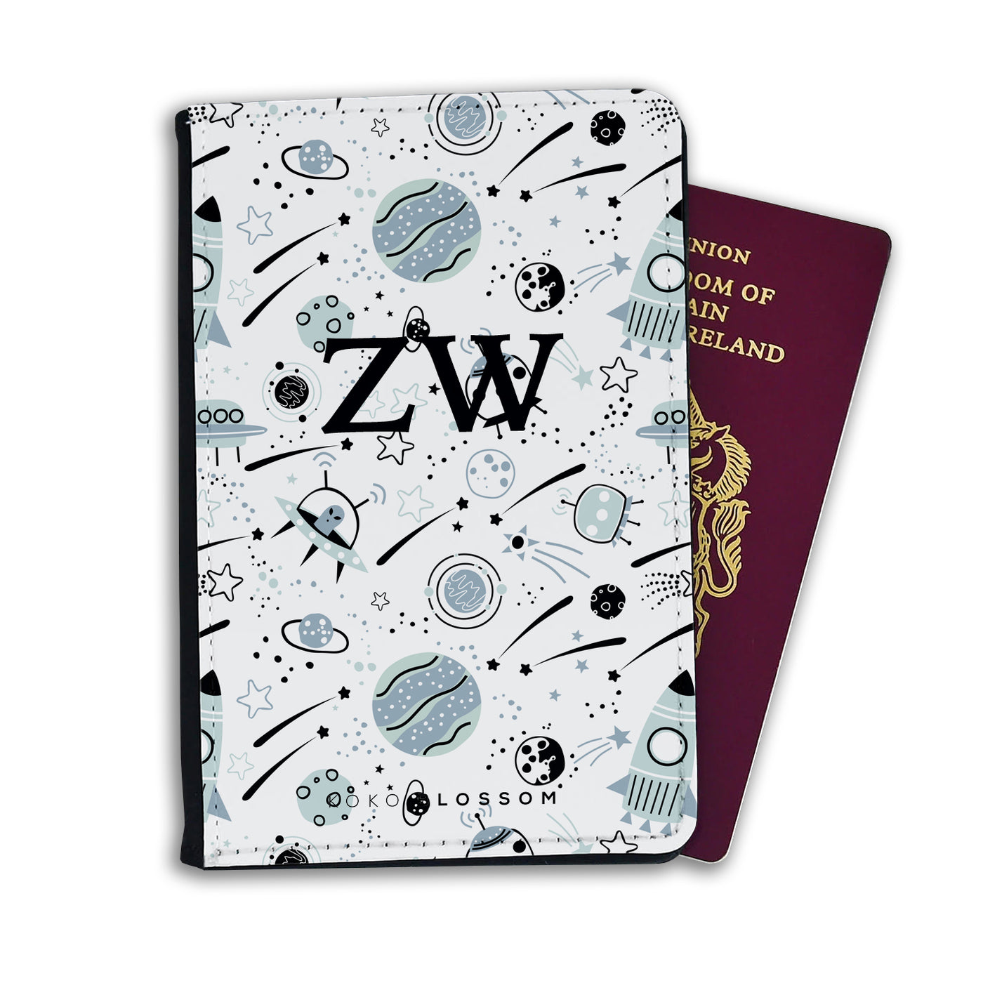 Kids Personalised Passport | Outer Space