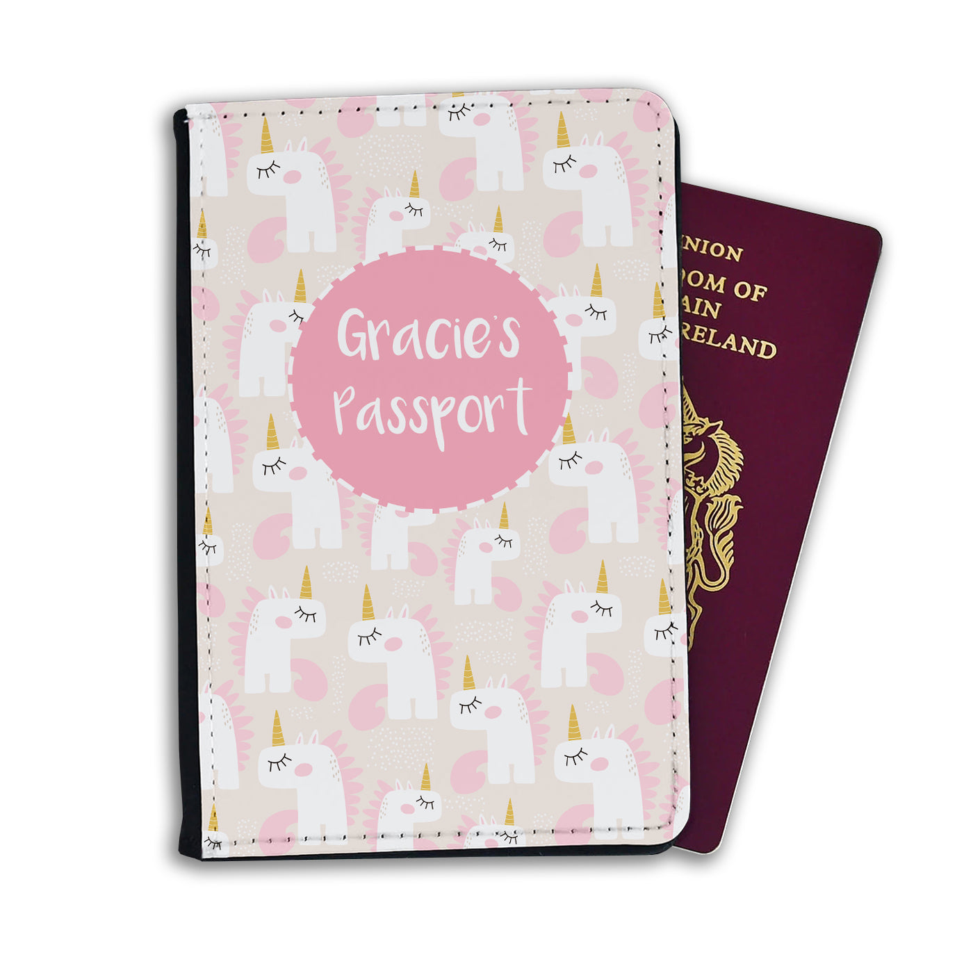 Kids Personalised Passport | Unicorn