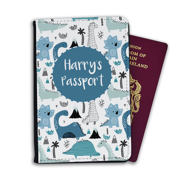 Kids Personalised Passport | Dino Land