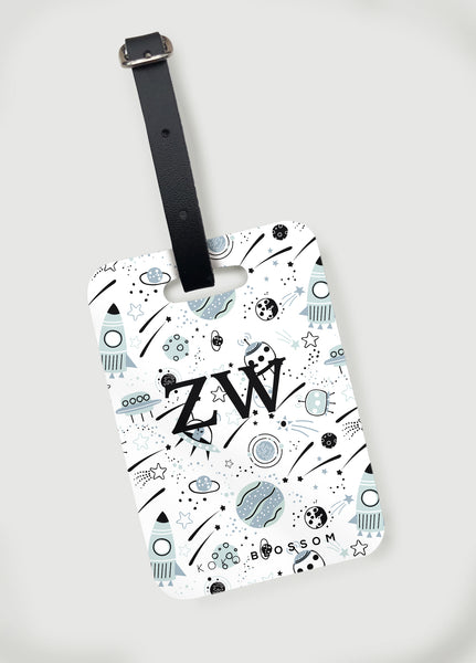 Personalised Space Bag Tag