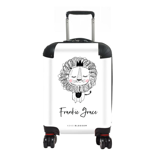 Personalised Baby Suitcase | Baby Lion