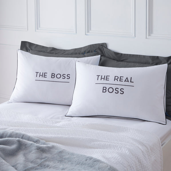 Boss and Real Boss Pillowcases