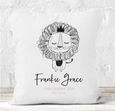 Personalised Cushion |  Baby Lion