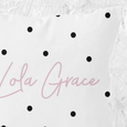 Personalised Cushion | Dotty