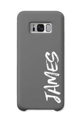 Personalised Graffiti Phone Case | Grey