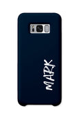 Personalised Graffiti Phone Case | Navy