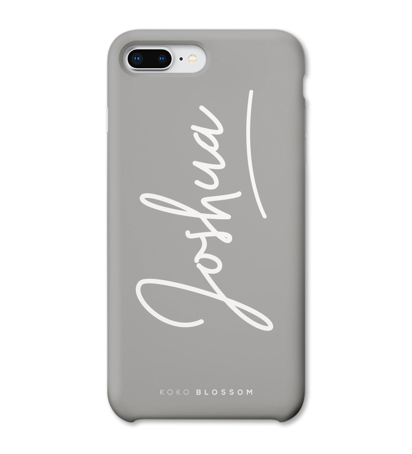 Signature Phone Case in Grey