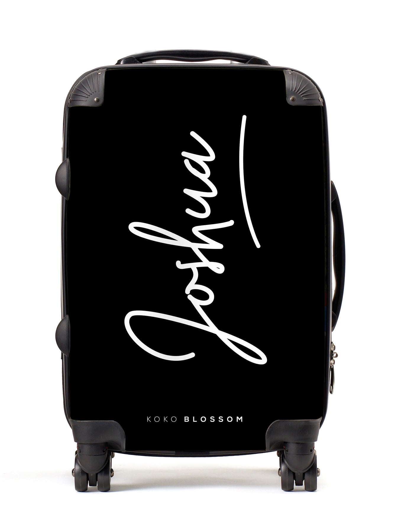 Personalised Suitcase | Signature in Black