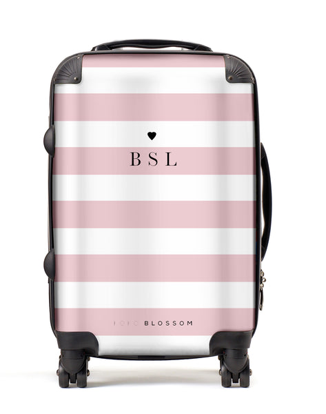 Personalised Suitcase | Laneways in Blush