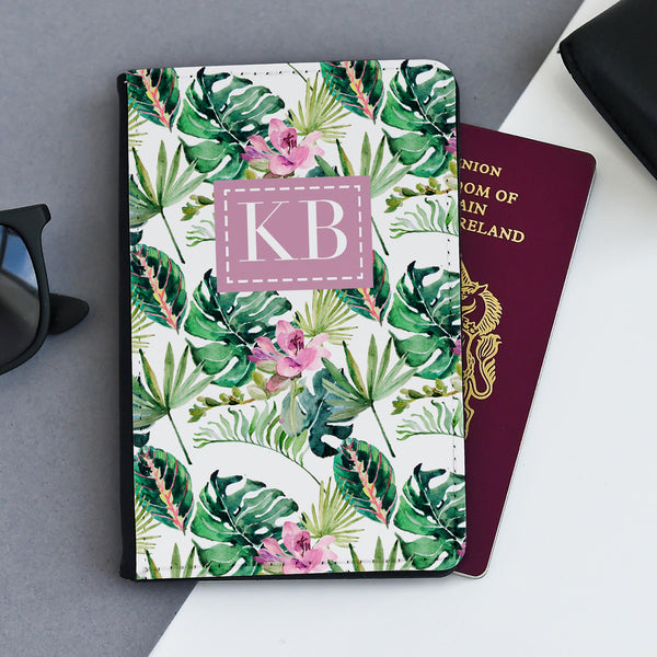 Personalised Passport Holder | Totally Tropical