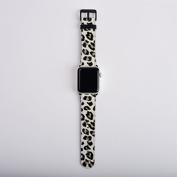 Leopard apple watch strap