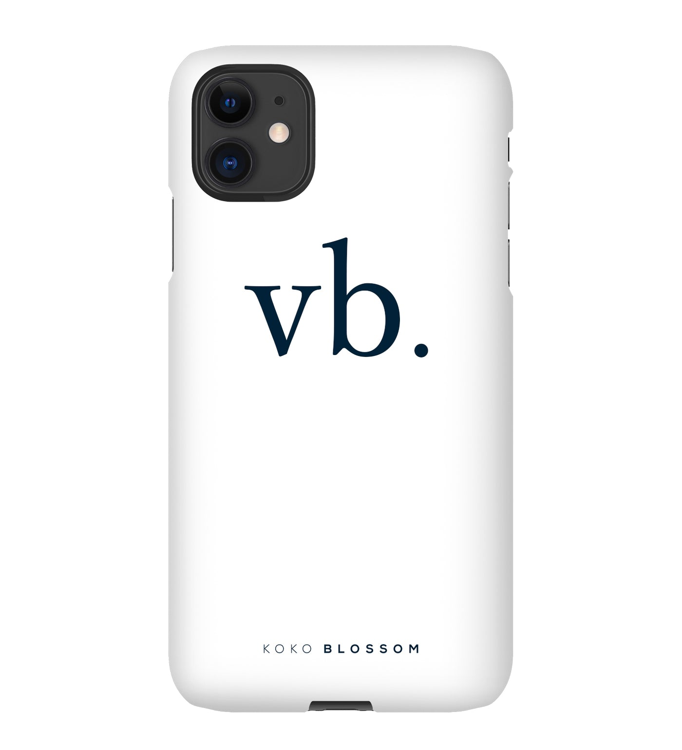 All About You Phone Case | White