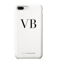 Personalised Phone Case | White Monogram