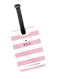 Laneways Luggage Tag in Rose Pink