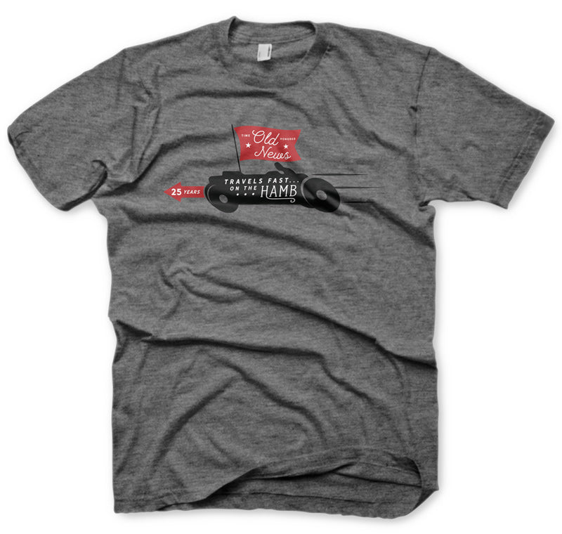 "The ""Old News"" Shirt - Grey"