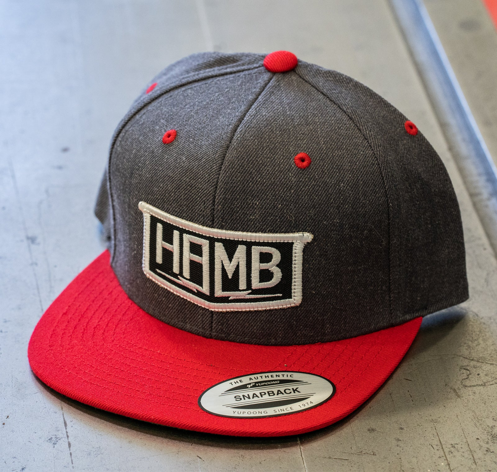 The Heather HAMB Patch Hat
