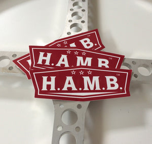 The BIG H.A.M.B. Logo Sticker