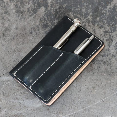 "The ""Black & Tan"" Glovebox Wallet"