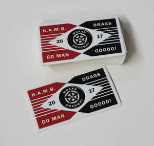 The Go Man Go Sticker