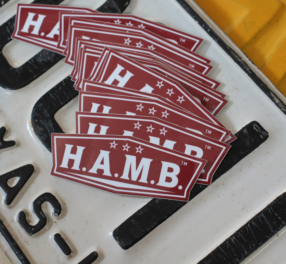 H.A.M.B. Logo Sticker