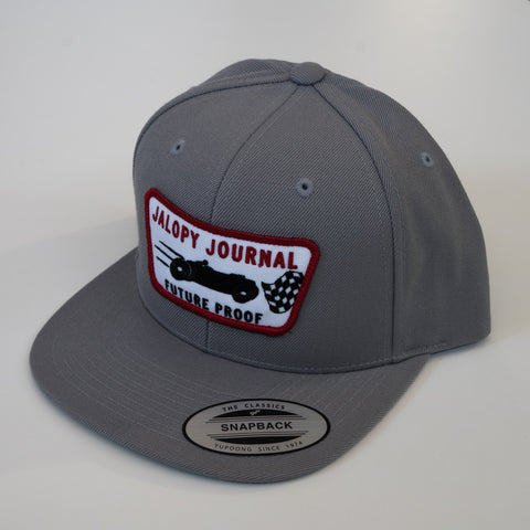 The Gray Jalopy Journal Patch Hat