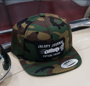 The Jalopy Journal Hat: Camo