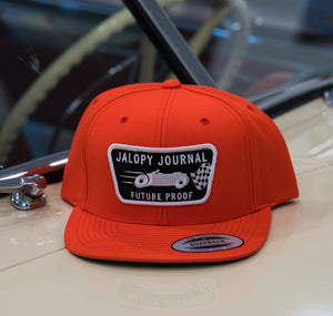 The Jalopy Journal Hat: Safety Orange