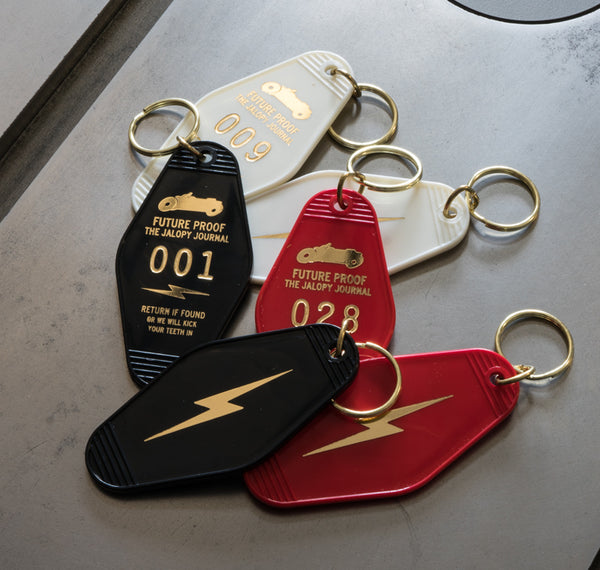 The Safe House Key Tag