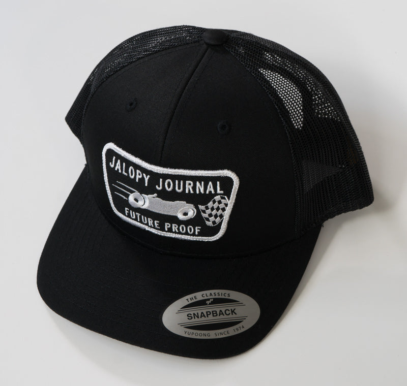 The Trucker Jalopy Journal Patch Hat