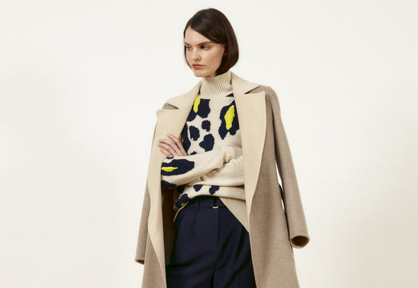 Rousseau, Rich Colors, Refined Silhouettes—DUFFY's Fall Collection