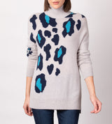 Animal Intarsia Tunic