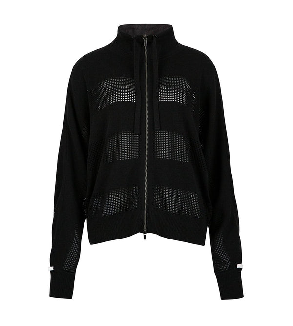 Mesh Stripe Jacket