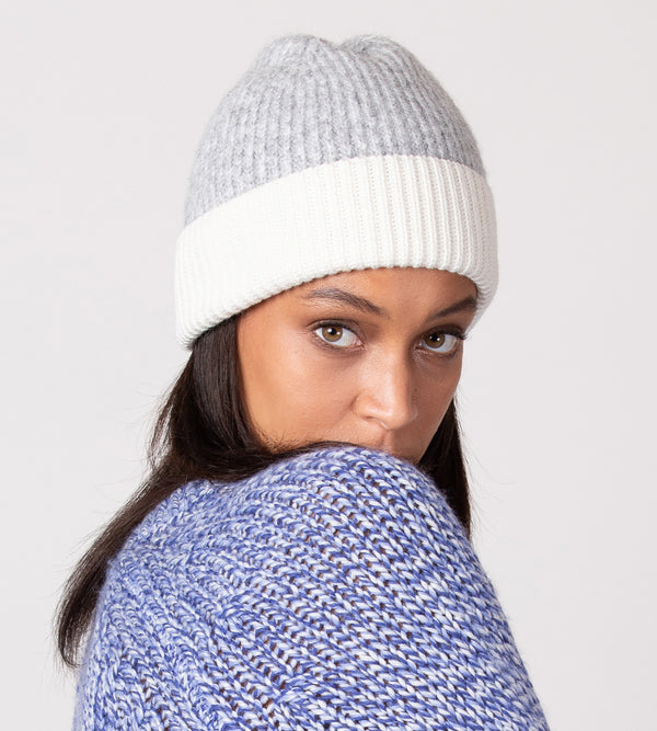 Heather Ribbed Beanie