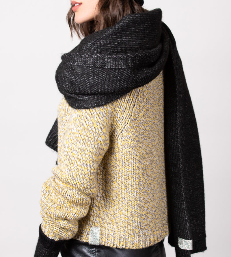 Oversized Heather Travel Wrap