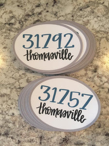 Thomasville Decal