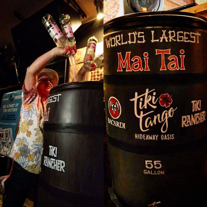 Tiki Rancher sets new record for World's Largest Mai Tai