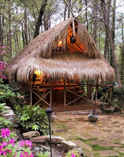 Custom Bamboo and Thatch Tiki Huts