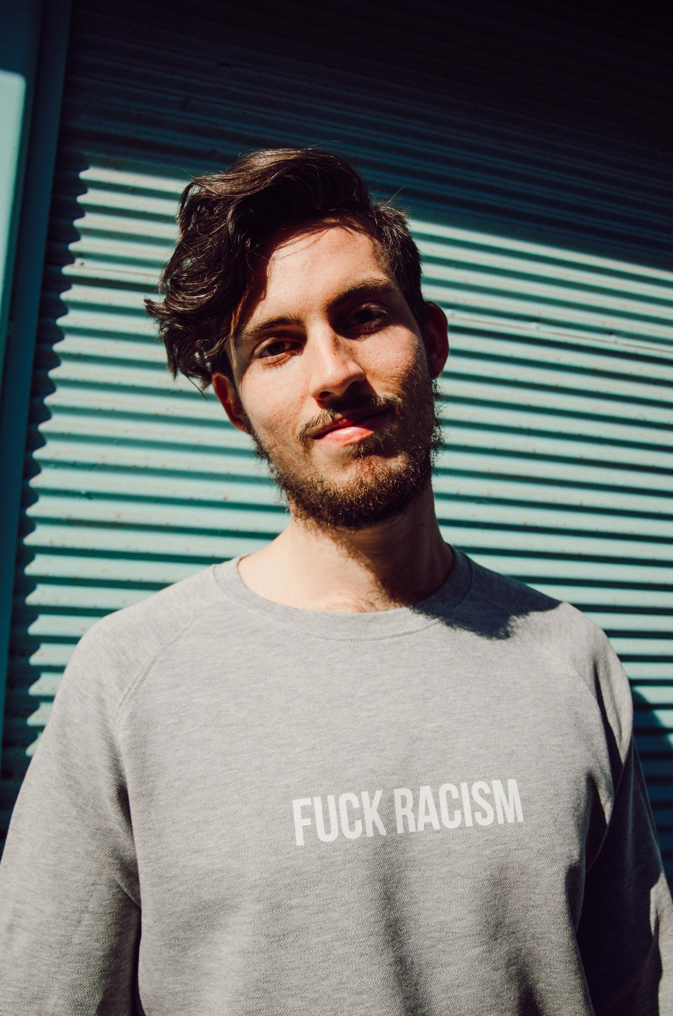 FUCK RACISM SWEATER (unisex) + 5€ donation