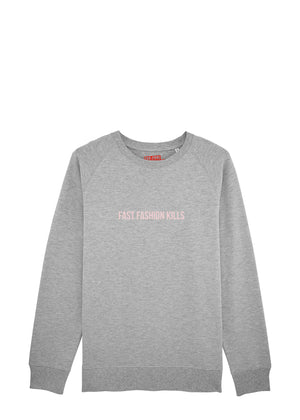 FAST FASHION KILLS SWEATER (unisex)
