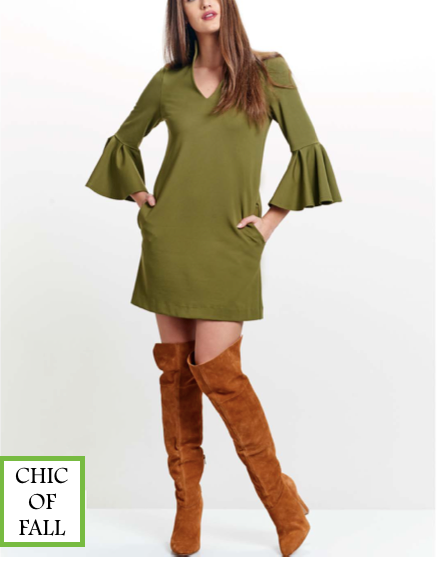 Bella Crush Bell Sleeve Dress