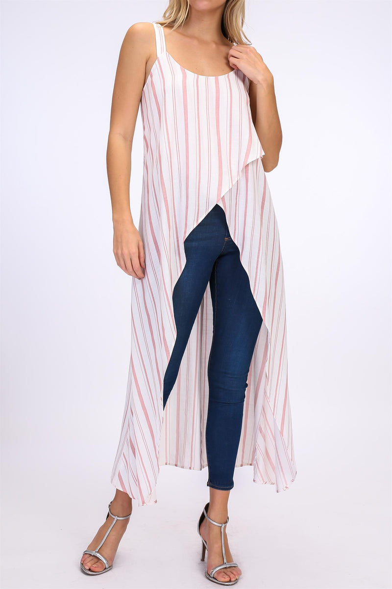 Mary Jane Striped Top