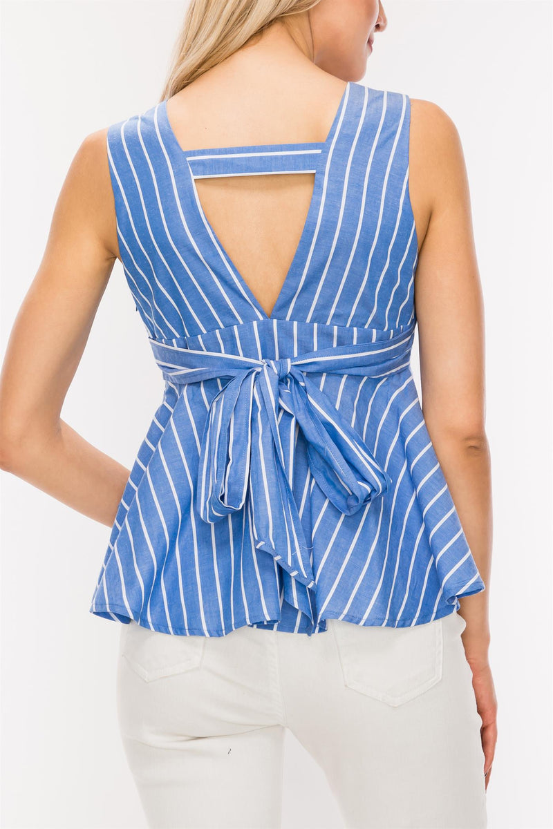 Li Striped Dress